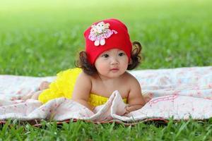 klein Aziatisch meisje
