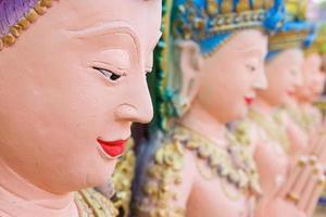 Aziatische engel standbeeld foto