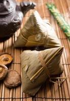 Aziatische rijstknoedels foto
