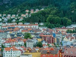 bergen stadsgezicht foto