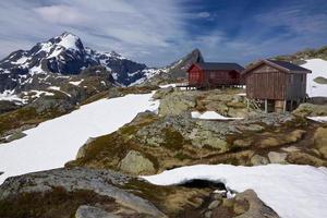 berghut in Noorwegen foto
