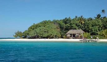 eiland in de Grote Oceaan foto