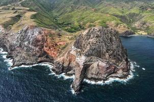 kahakuloa hoofd. Maui - Hawaï foto
