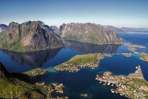 reine in Noorwegen foto