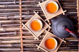 Aziatische thee foto
