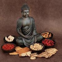 Aziatische geneeskunde foto