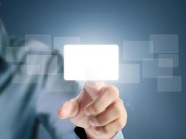touchscreen-knop foto