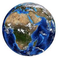 fotorealistische aarde foto