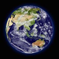 planeet aarde foto