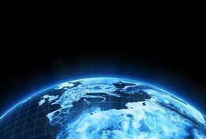 elektronische aarde foto