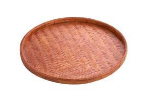 Aziatische houten dienblad foto