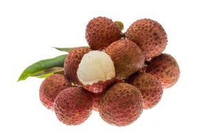 Aziatische fruit lychee foto
