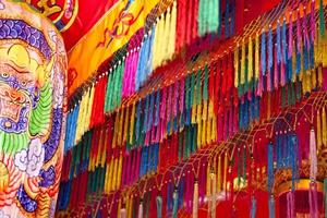 Aziatische tempeldecoratie