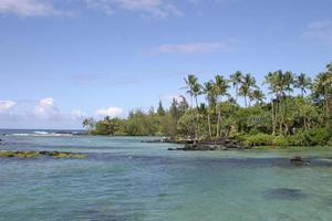 Hawaiiaanse geheime plek foto