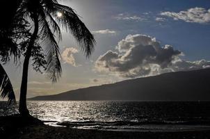 kihei middag maui - hawaii foto