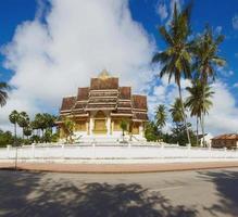 Aziatische tempel a foto