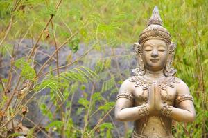 Thaise Aziatische beeldhouwkunst