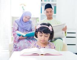 Zuidoost-Aziatische familie foto