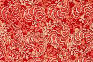 stof patroon in Aziatische stijl foto