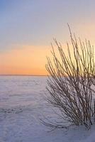 romantische wintertijd foto