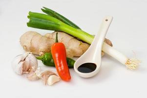 Aziatische ingrediënten foto
