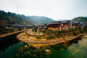 Aziatisch dorp in China