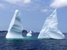 twillingate ijsberg foto