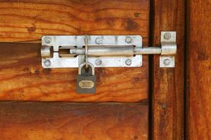 gesloten deur # 9 foto