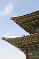 Aziatisch dak foto