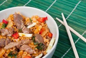 Aziatische pasta