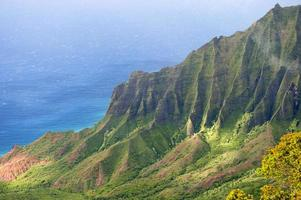 Kalalau Valley, Kauai, Hawaï. foto