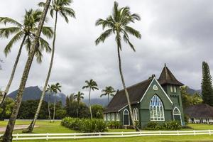 christelijke kerk in Hawaï foto