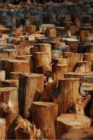 houten stapel