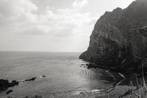 hete scène op het eiland Jeju foto