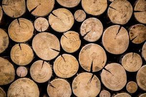 foto van natuurlijk hout