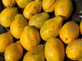 rijpe papaja achtergrond foto
