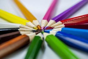 Kleur potlood foto