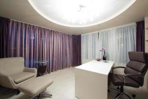 modern interieur van de werkkamer foto