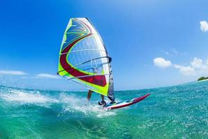 het windsurfen foto
