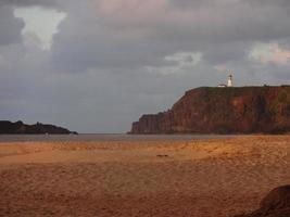 schilderachtig strand foto
