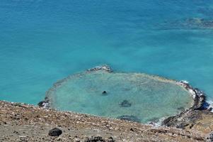 Bartolomé-eiland in de Galapagos-eilanden foto