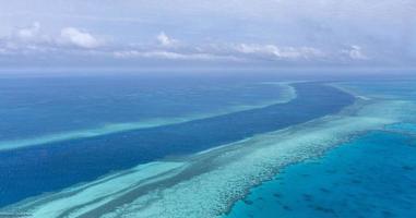 whitsunday-eilanden - helikopter foto
