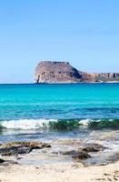 balos bay. griekenland foto