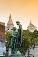 Montmartre begraafplaats in Parijs foto