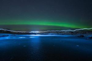 licht en aurora foto