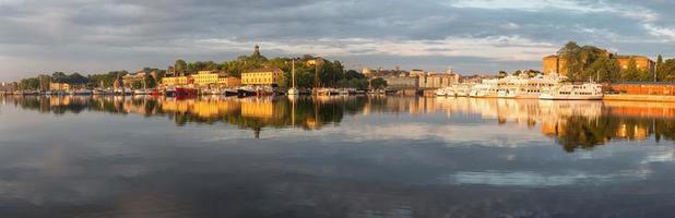 panorama van stockholm.