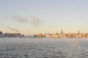 oude stad van Stockholm foto