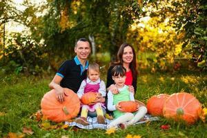 familie portret. foto