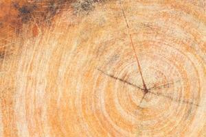 houtstructuur met kras achtergrond foto