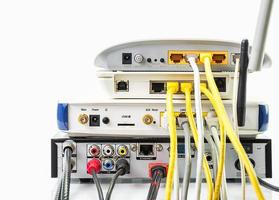 modem router netwerkhub foto